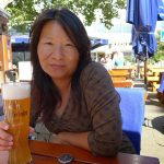 LiAnne Yu with Beer