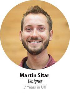 Martin Sitar, Designer, 7 years in UX
