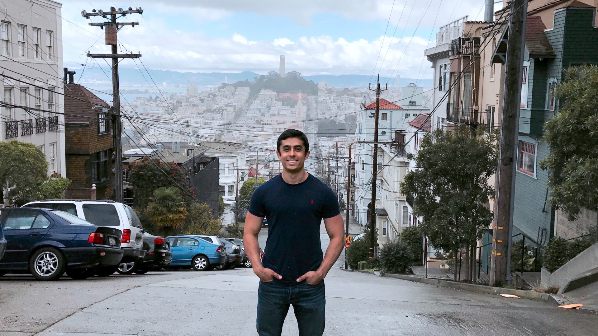 Behzad Aghaei in San Francisco
