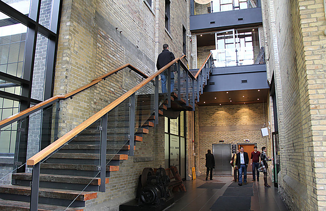 Communitech Stairs