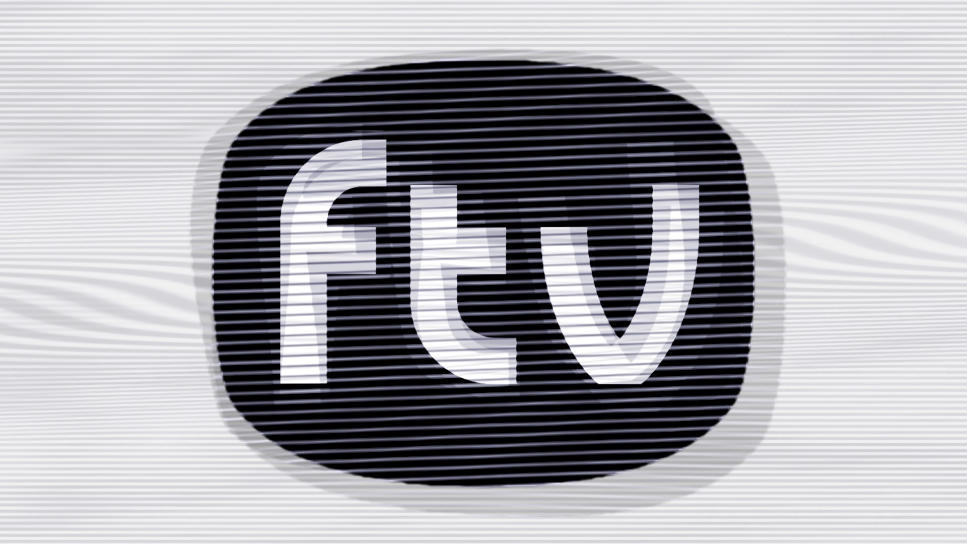 Fluxible TV logo against a noisy TV background